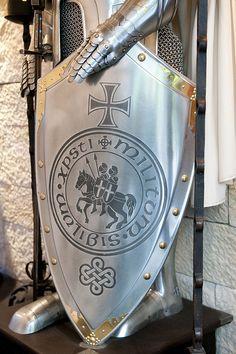 Detalle de Armadura Templaría.