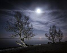 Full Moon by Nicolai Perjesi