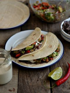 Black bean tacos5