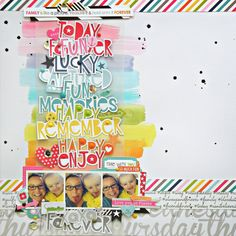 EMBELLISHMENT WORDS - My Bits of Sunshine: New Bella Blvd Layout- Love You To Pieces
