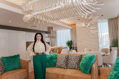 High-End Modern Apartment Interior for Leading Design Event — Dubai Expo 2020 New Interior Design, Interior Design Companies, Best Interior, Contemporary Interior, Modern Apartment Design, Modern Design, India Home Decor, Luxury House Plans, Spacious Living Room