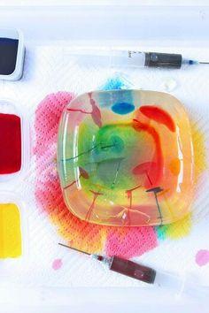 Rainbow gelatin