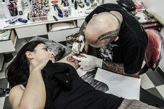 Vanessa @ Last Dragon Tattoo Studio w/ Sérgio Ogres