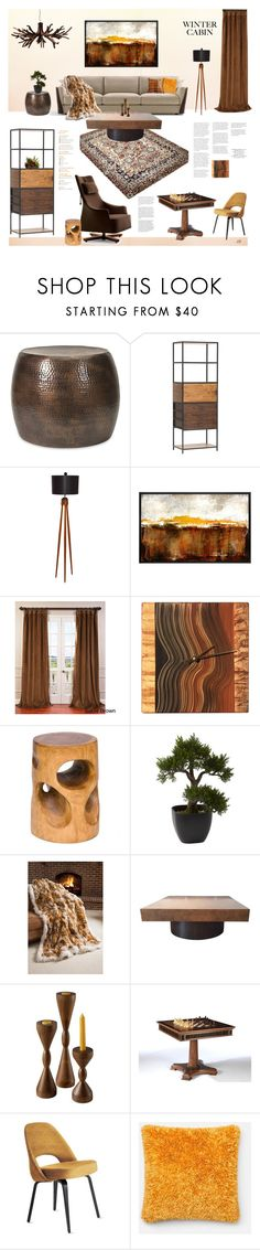 """""""Untitled #1185"""" by louise-stuart ❤ liked on Polyvore featuring interior, interiors, interior design, home, home decor, interior decorating, Umberto, EFF, Ingela Noren and Daniel Grant and Nearly Natural"""