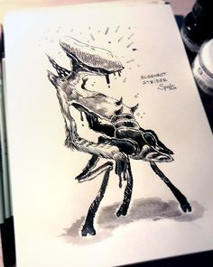 INKTOBER #7 - Sloghrot Strider
