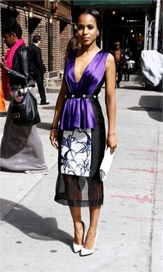 Kerry Washington - Vogue.it
