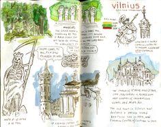 Vilnius (by Cristina Urdiales)