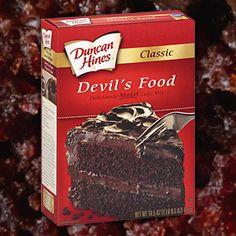 Duncan Hines Devil S Food Bundt Cake Recipe