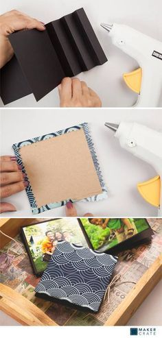 Keepsake Photobooks | DIY Photobooks & Photo Albums | Maker Crate #DIY #photoalbum #photobook