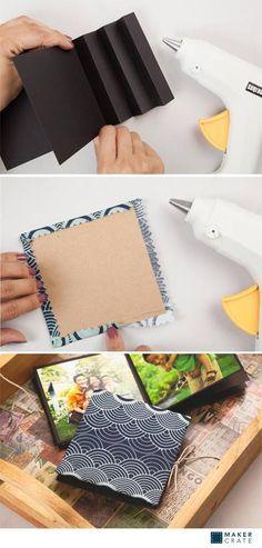 Keepsake Photobooks   DIY Photobooks & Photo Albums   Maker Crate #DIY #photoalbum #photobook