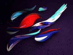 3d Brush Strokes by Andrei Robu (www.robu.co)