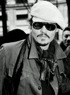 Johnny Depp beautiful B & W Photos