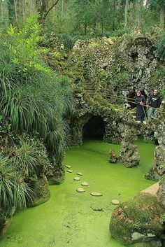 We loved this beautiful garden. It is amazing, grand and filled with surprises like a lovely little chapel built for a little Carmelite like myself. Lovely and such a peaceful location. By Sintra, Portugal