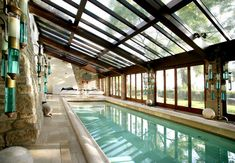 When most of us think of summer and hot days, the first thing that comes to mind is a swimming pool. A swimming pool provides relief from hot summer days and gives us a chance to simply relax, enjo… Luxury Swimming Pools, Natural Swimming Pools, Luxury Pools, Dream Pools, Swimming Pool Designs, Natural Pools, Small Indoor Pool, Indoor Swimming Pools, Outdoor Pool