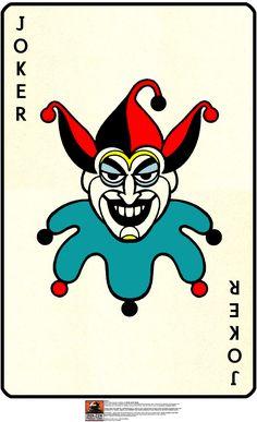 Joker Playing Card   ... » Batman: Batcave Playset – JOKER CARD Trophy (Classic Era