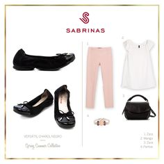 Sabrinas VERSÁTIL CHAROL NEGRO.    The black VIVORA CHAROL Sabrinas. #Sabrinas #Black #AnimalPrint #Trends #MadeInSpain #Ballerinas #Shoes #Look #SS14