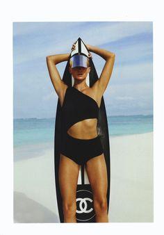 summer look #heroine #chanel #heroinesport