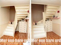Nyoppusset trapp + fotoshoot   - Mer enn bare ord -