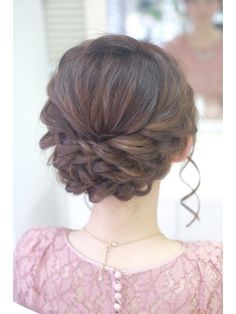 Graduation Hairstyles, Bride Hairstyles, Bridal Hairdo, Hair Arrange, Fries, Hair Reference, Prom Hair, My Hair, Curly Hair Styles