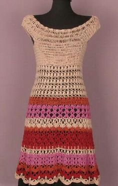 Crochet dress - easy.