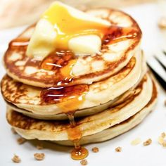 Rezept: Original American Pancakes | Frag Mutti