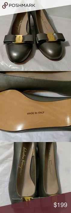 Salvatore Ferragamo  classic Vara Bow Authentic . Brand new. Made in Italy. Salvatore Ferragamo Shoes Heels