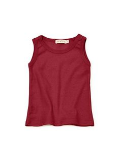 long and slim fitting sleeveless top with a high crew neck. adorable on girls or boys with skirts, bloomers, or shorts.all of our organic cotton products are ma