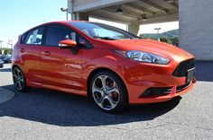 At Paramount Ford, New 2014 Ford Fiesta ST, Molten Orange Metallic Tri-Coat, All Around hero!!! Like the feeling of having people stare at your car? This fantastic ST will definitely turn heads* Real gas sipper!!! 35 MPG Hwy, Sold!