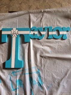 Tiffany inspired name:)