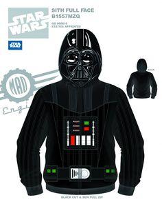 5 New STAR WARS Hoodies by MadEngine - News - GeekTyrant- my son needs this