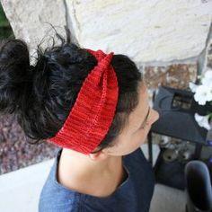 Moebius Headband Pattern by Jenise Reid
