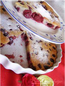 Barbi konyhája: Meggyes tejes pite/Clafoutis - Egy szelet csak 156 Kcal!!! + diétás napi étrend