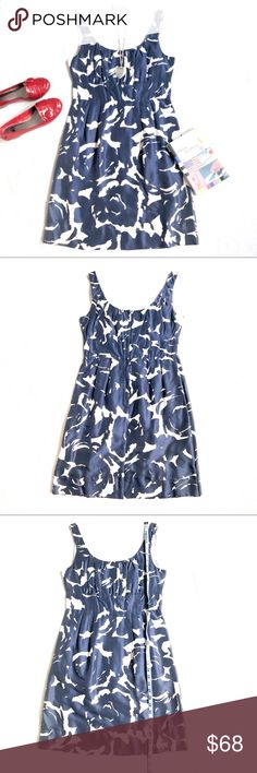 JCREW Silk Shift Dress w  Pockets 5dc69f3ef