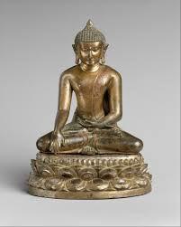 Buddha , Pagan period art, 11th to 13h century, bronze