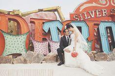 Little Vegas Wedding | Ultimate Vegas Wedding Venue Guide: Neon Museum | http://www.littlevegaswedding.com