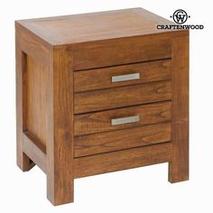 Ohio nightstand 2 drawers - Be Yourself Collection by Craften Wood