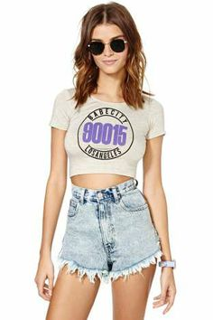 Babe City Crop Top | Shop What's New at Nasty Gal