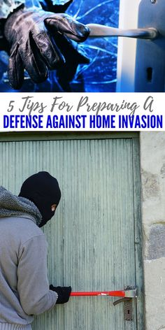 5 Tips For Preparing A Defense Against Home Invasion — Don't wait until some criminal comes barging in your home and harm you or your loved ones. Self Defense Tips, Self Defense Techniques, Home Defense, Disaster Preparedness, Survival Prepping, Survival Skills, Survival Equipment, Home Safety, Safety Tips