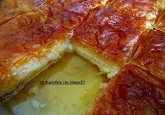 Νηστίσιμο γαλακτομπουρεκο!Μια φανταστική συνταγή που πρέπει να δοκιμάσετε    ΥΛΙΚΑ  800 γρ.γάλα σόγιας +200 γρ.κρέμα φυτική(αλλιώς 1 λίτρο γάλα σόγιας)  1 φλ.σιμιγδάλι ψιλό(όχι γεμάτο)  1 φλ.ζάχαρη  2 βανίλιες  1 κ.σ φυτίνη  1 πακέτο φύλλο κρούστας  1 φλ.(μισό φυτίνη+μισό μαργαρίνη) λιωμένα για το άλλειμα  ΓΙΑ ΤΟ