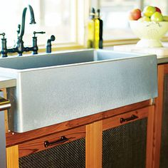 Love this sink in the Sunset Lake Tahoe Idea House.  It is so beautiful!
