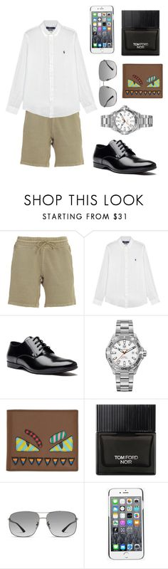 """""""Men style 😻😻"""" by fashiondam ❤ liked on Polyvore featuring Yeezy by Kanye West, Polo Ralph Lauren, Versace, TAG Heuer, Fendi, Tom Ford, Gucci, Kenzo, men's fashion and menswear"""