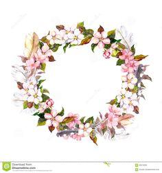 vintage-frame-wreath-boho-style-feathers-spring-flowers-cherry-apple-flower-blossom-watercolor-seamless-floral-template-63272325.jpg (JPEG kép, 1300×1390 képpont) - Átméretezett (47%)