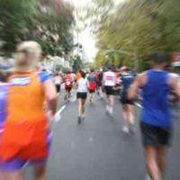 Trainer bonks a runner