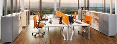 BN Office Solution - Produkty - Kancelársky nábytok - PRIMO SPACE Front Office - Priestor plný nápadov