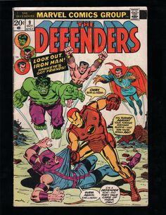 THE DEFENDERS #9 HULK, DOCTOR STRANGE, SUB-MARINER, IRON MAN, MARVEL COMICS