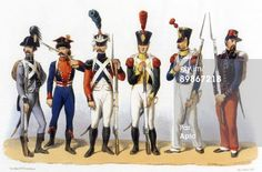 Photo d'actualité : Uniforms of french army Foreign Troops in French...