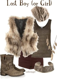 """Lost Boy (or Girl)"" by adisneygirl ❤ liked on Polyvore"