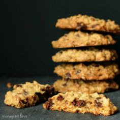 Sweet, chewy cookies you can totally kid yourself are healthy for you.