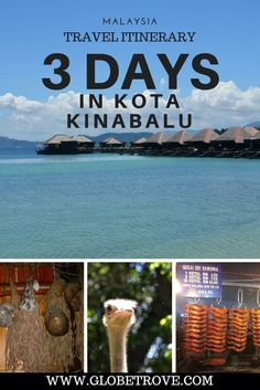 Kota Kinabalu has so much to do and three days in the city seems way to short. Here are my suggestions for a three day itinerary in Kota Kinabalu