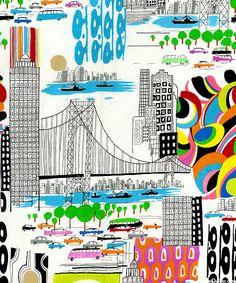 Urban Sprawl - City Life - White